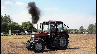 mtz belarus and others tractors racing 2017 2018