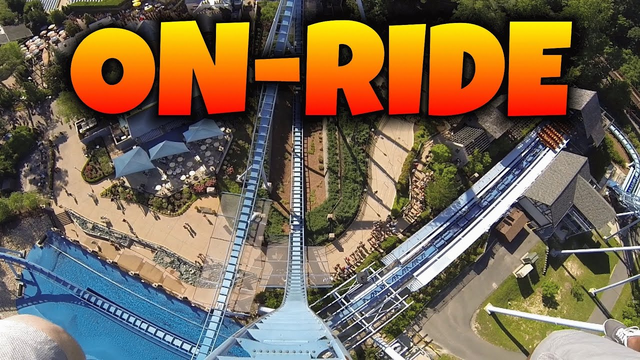 Griffon On ride Front Seat HD POV Busch Gardens Williamsburg