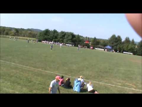 Saucon Valley vs Nazareth Girls Soccer 2nd Half Sept 5, 2015