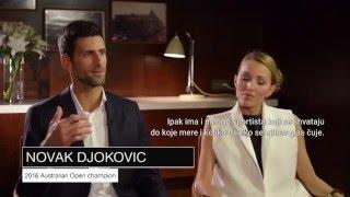 CNN Open Court – Novak & Jelena about Novak Djokovic Foundation #Care4Kids