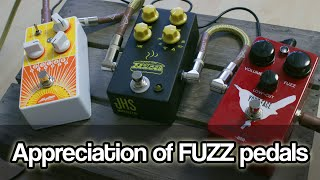 Appreciation of FUZZ Pedals | Tone Bender vs Big Muff vs Fuzz Face, fuzz history and facts