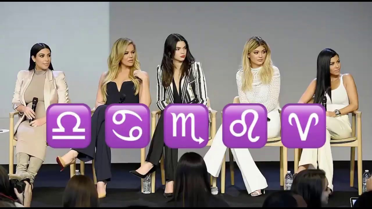 Download the kardashians proving astrology is REAL for 5 minutes straight