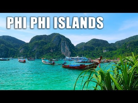 Travelling by Boat to Ko Phi Phi Islands (Thailand Travel Vlogs Ep.7)