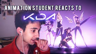 ANIMATION STUDENT REACTS TO K/DA - REVIEW & THOUGHTS