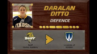 Daralan Ditto - CSSHL to USports | Stand Out Sports Client Hall of Fame