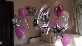 видео Оформление шарами