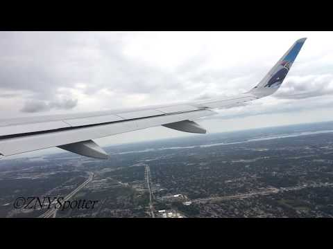 [HD] NEO!! Frontier A320neo Takeoff at Detroit Metro DTW