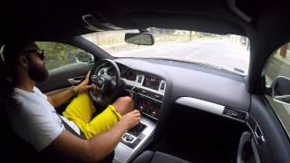 Audi A6 C6 casual drive