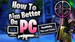 FORTNITE How To Aim Better PC Master Guide (Settings, Tips & Tricks)