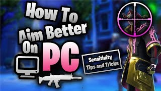 FORTNITE How To Aim Better PC Master Guide (Settings, Tips & Tricks)