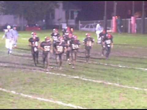 Rittman Smithville High School Football Game Highlights pt6   Senior Night