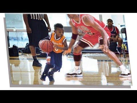 5 bambini FENOMENO del basket a 3 ANNI!