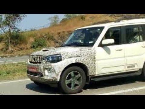 Mahindra Scorpio Facelift launching in India 2017-2018