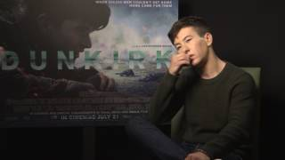 DUNKIRK - Interview with Barry Keoghan for Christopher Nolan's war movie