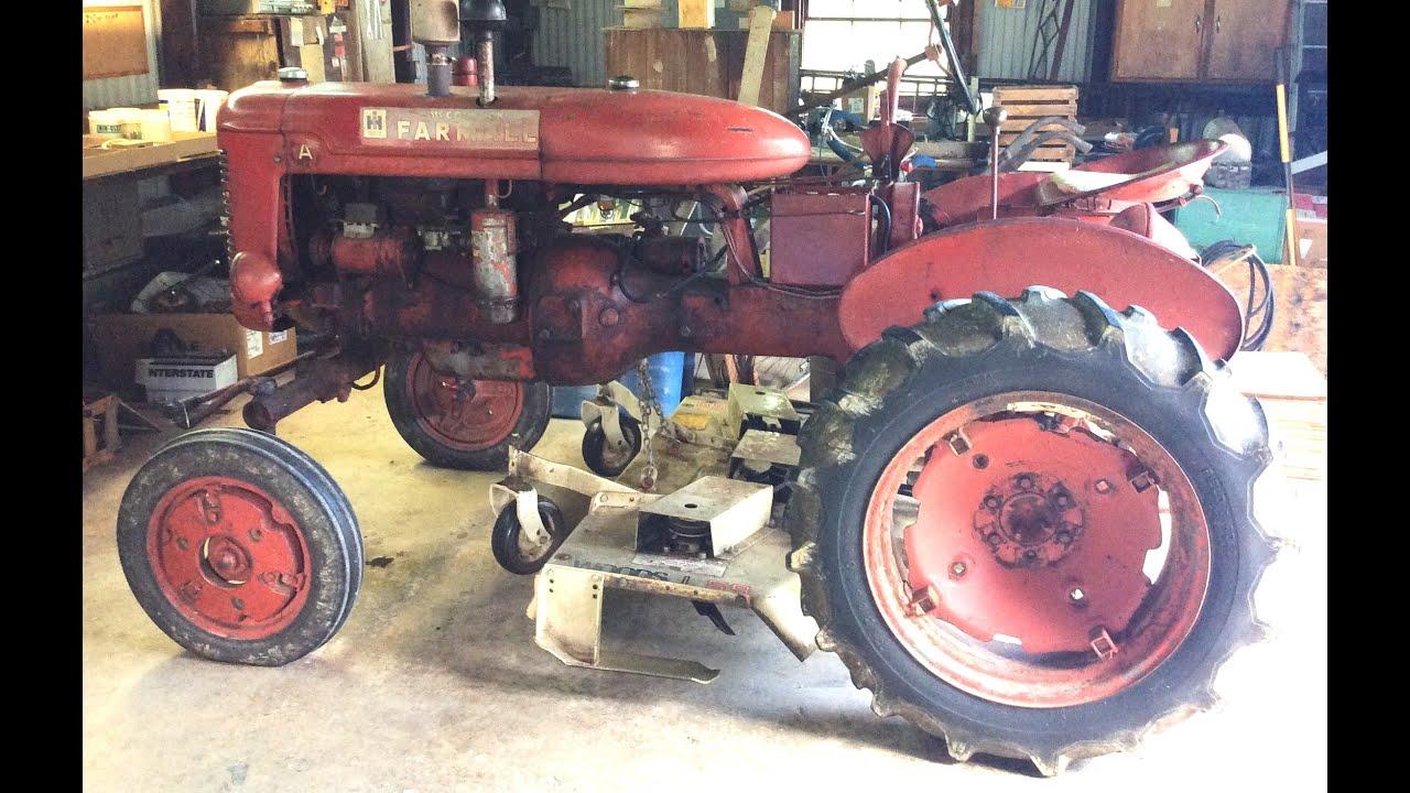 Farmall Model A tractor For Sale