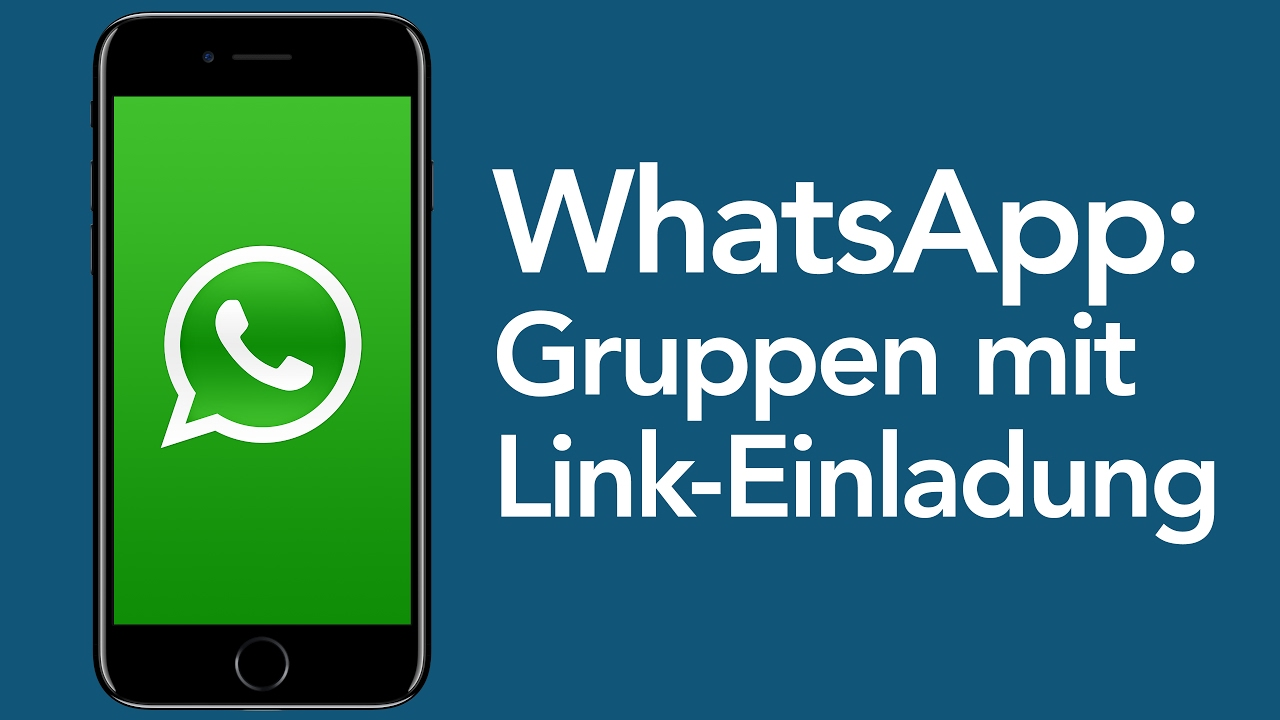 whatsapp tricks: gruppen mit link-einladung - youtube, Einladung