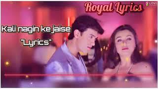 Kaali Naagin Ke Jaisi Mann 1999 Aamir Khan Manisha Koirala Bollywood Song