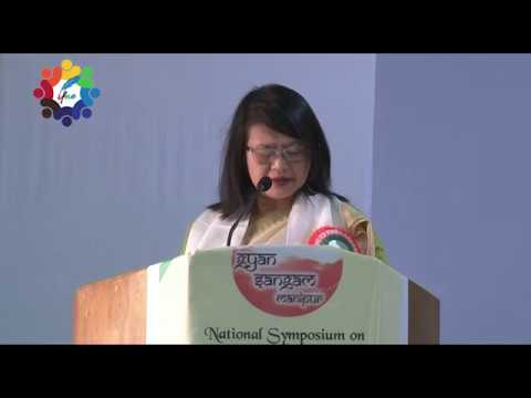 Welcome Address by Dr. R. K. Tamphasana | Principal G.P. Women's College, D.M University