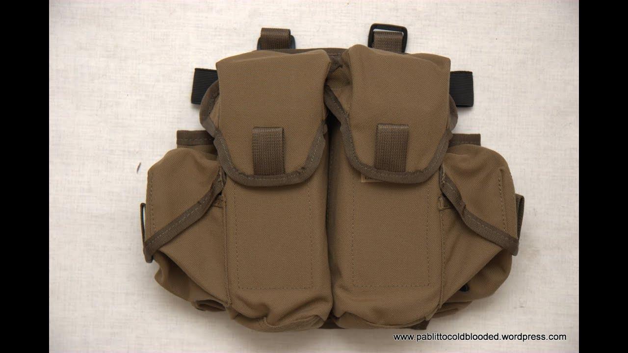 В настоящее время, в основе всей экипировки и способом размещения снаряжения (кобур, подсумков, сухарных сумок) являются разгрузочные жилеты (разгрузки), ременно-плечевые системы (рпс), разгрузочные пояса. Выбор между этими тремя видами разгрузки остается исключительно за человеком,