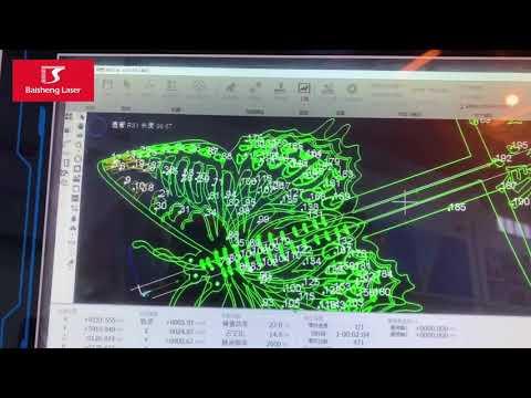 F6020GE - Máquina Industrial Baisheng Laser para Corte de Metal Tubo e Metalon