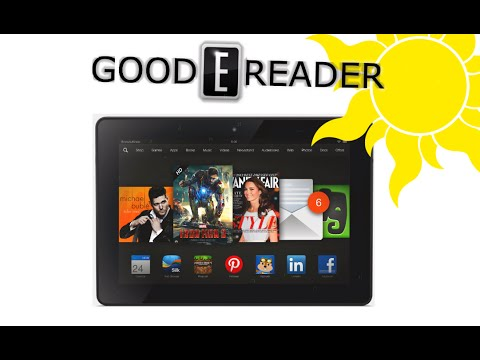 Amazon Fire HDX 8.9 2014 Edition - Outdoor Reading Test