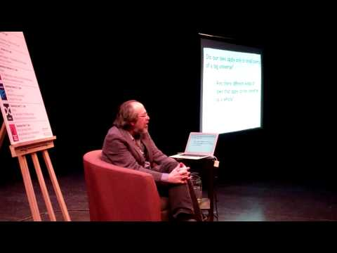Tarragon Lecture April 11, 2015 - Lee Smolin on Infinity