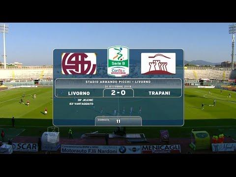 Livorno 2-0 Trapani