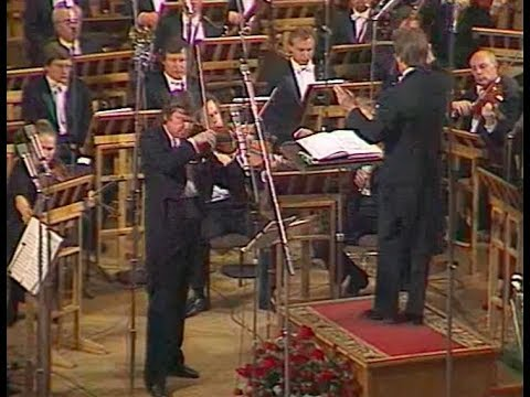 Viktor Tretyakov plays Shostakovich Violin Concerto no. 1, op. 77 - video 1989