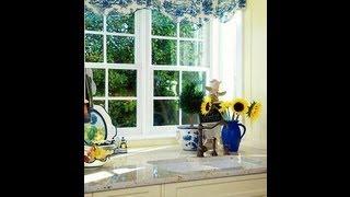 видео голубая кухня в стиле прованс