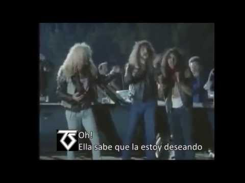 Hot love-Twisted Sister subtitulado