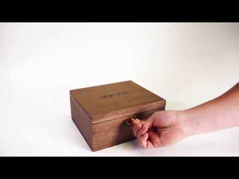 XL Walnut Lock Box - Hakuna Supply