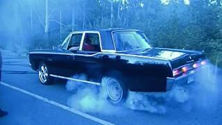 plymouth fury 1967 burnout