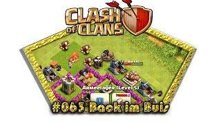 Let's play Clash Of Clans #063 - Back im Buis [Deutsch / German][LP iOS IPhone]