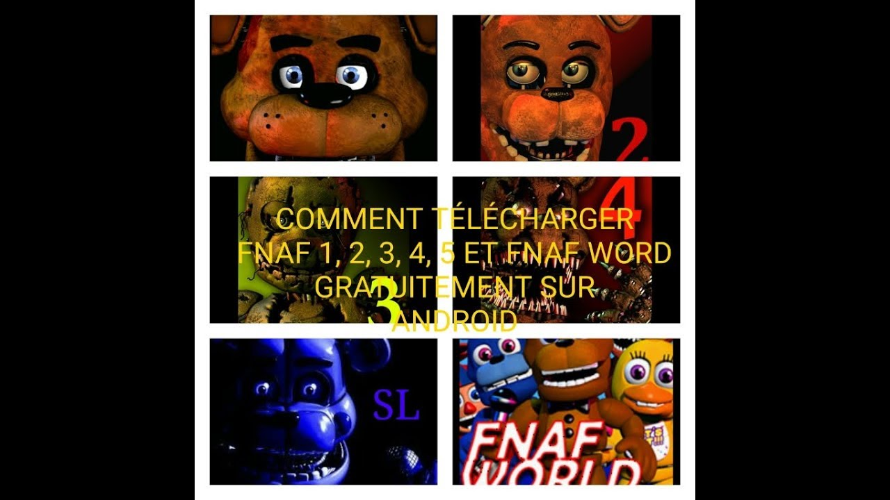 telecharger fnaf 1 android