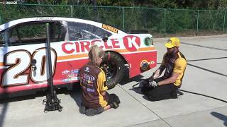 The Challenges Of A Nascar Pit Stop