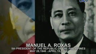 Ang Pangulo Ko: Manuel A. Roxas