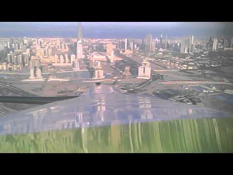 Omega II Powered Glider Flight over Nad Al Sheba Field in Dubai