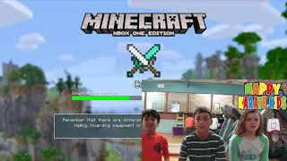 Minecraft Mini Games Lesson for Happy Karate Kids