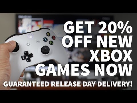 Get 20% Off Xbox Games with Amazon Prime - Amazon Xbox Game Discount on New and Pre Order Video Game