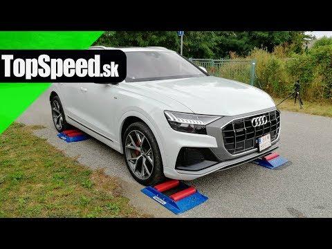 Audi Q8 quattro 4x4 intelligence test - TopSpeed.sk