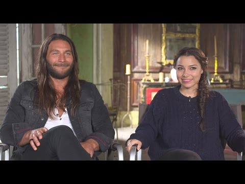 'Black Sails' Season 2 : Zach McGowan and Jessica Parker Kennedy