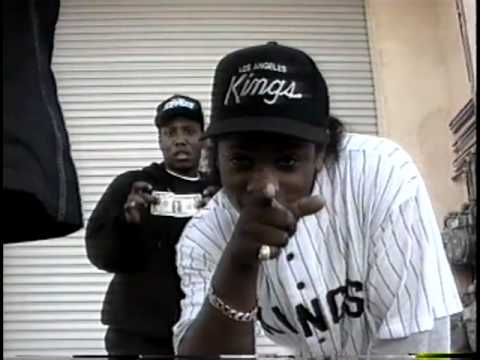 N.W.A. TV  EazyE, Dr. Dre, MC Ren, dj Yella Home Videos. In The Studio,