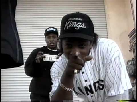 N.W.A. TV - Eazy-E, Dr. Dre, MC Ren, dj Yella Home Videos. In The Studio, Behind The Scenes