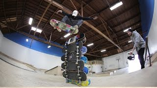 THE HIGHEST EVER OLLIE ON BRAILLE??