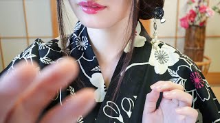 ASMR Japanese Trigger Words ~ Layered Whispers & Hand Movements to FALL ASLEEP✨