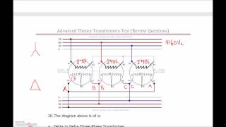 3 phase transformer test 2 review part 2