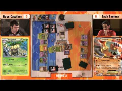 Pokémon TCG Winter Regional Championships 2015 - Round 2 - Ross vs Zach
