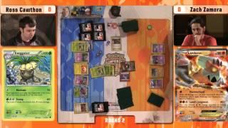 Pokémon TCG Winter Regional Championships 2015 - Round 2 - Ross vs Zach - Provarence