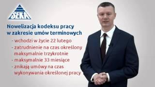 Prawo Pracy  - SEKA NEWS - zmiany w przepisach 1Q2016