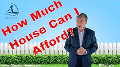 How much home can I afford?  Choosing how much to spend on a house.
